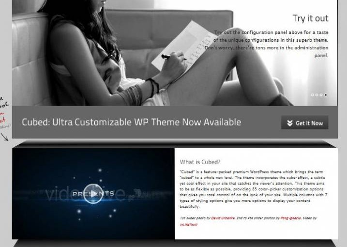 Cubed – Ultra Customizable Premium Theme v1.2