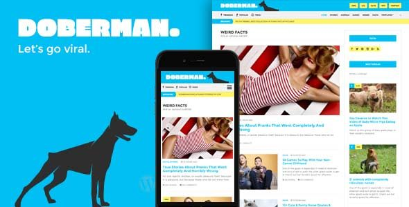 Doberman - Magazine & News theme for WordPress