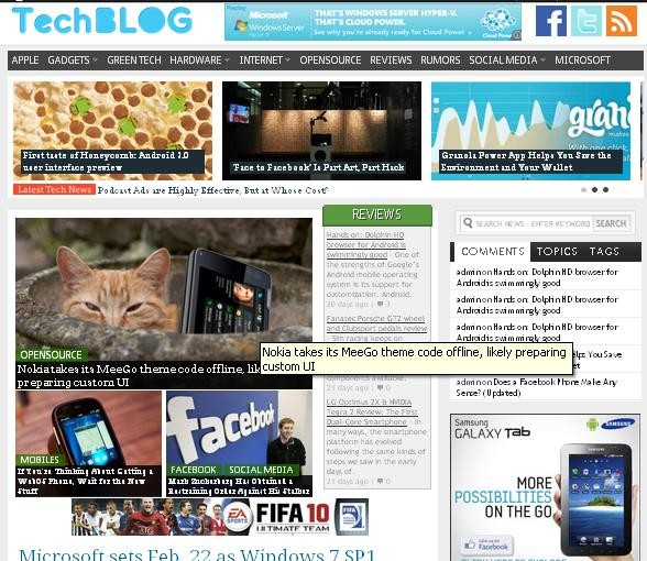 Tech Blog- Magazine3 Premium WordPress Theme