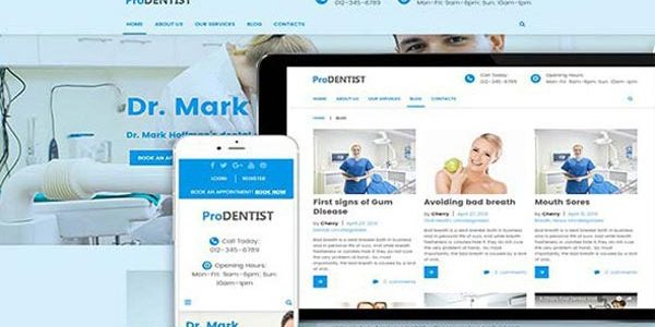 Pro Dentist WordPress Theme