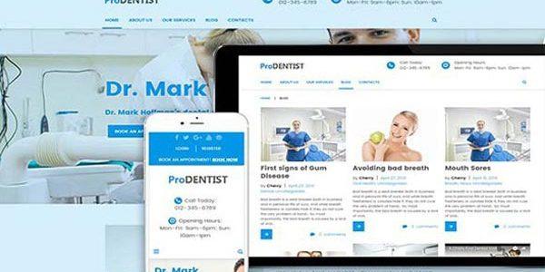 Pro Dentist WordPress Theme