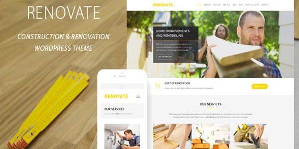 Renovate Renovation Construction Theme